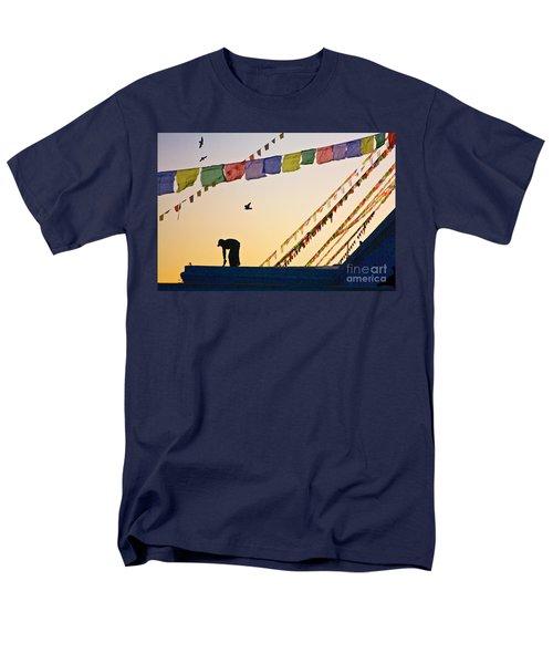 Men's T-Shirt  (Regular Fit) featuring the photograph Kdu_nepal_d113 by Craig Lovell