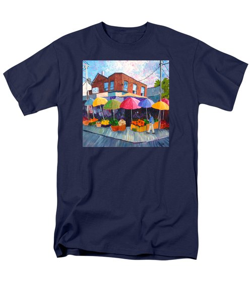 Kensington Market Men's T-Shirt  (Regular Fit) by Diane Arlitt