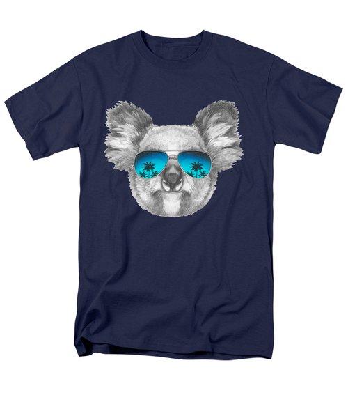 Koala With Mirror Sunglasses Men's T-Shirt  (Regular Fit)