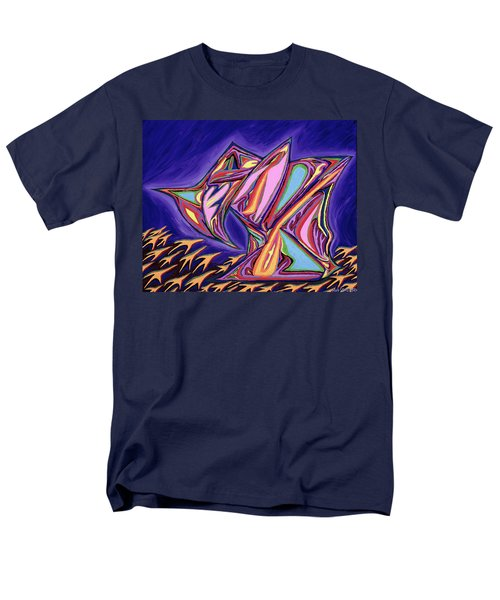 La Machine Nostradamus Men's T-Shirt  (Regular Fit) by Robert SORENSEN