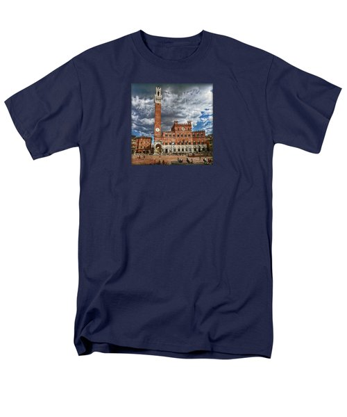 Men's T-Shirt  (Regular Fit) featuring the photograph La Piazza by Hanny Heim