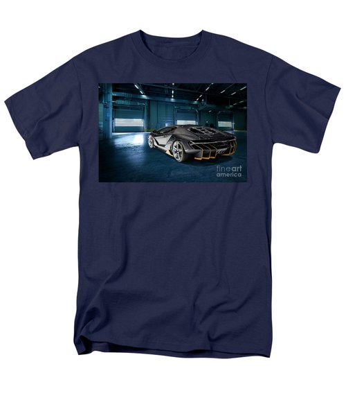 Lamborghini Centenario Lp 770-4 Men's T-Shirt  (Regular Fit) by Roger Lighterness