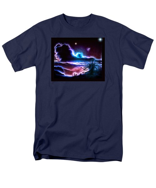 Land Of Nightmares Men's T-Shirt  (Regular Fit) by Mario Carini