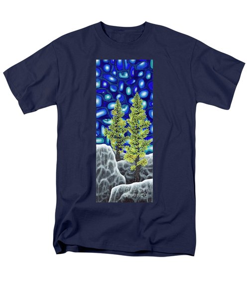 Larch Dreams 1 Men's T-Shirt  (Regular Fit) by Rebecca Parker