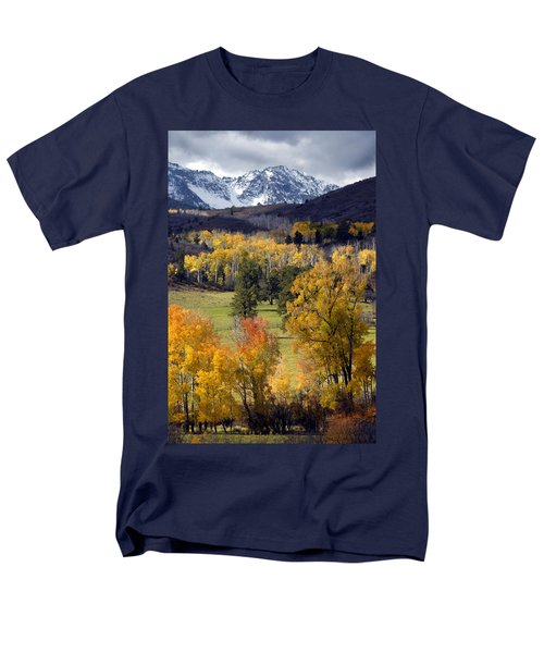 Last Light Before The Storm Men's T-Shirt  (Regular Fit) by Dave Mills