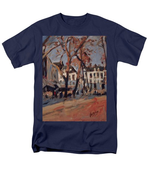 Last Sunbeams Our Lady Square Maastricht Men's T-Shirt  (Regular Fit) by Nop Briex