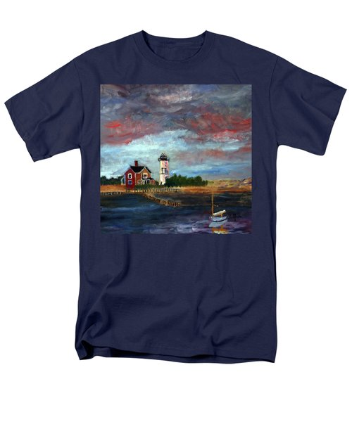 Let There Be Light Men's T-Shirt  (Regular Fit)