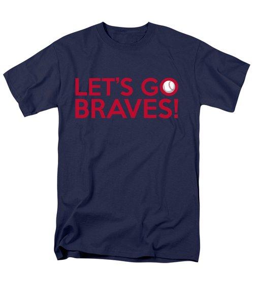 Let's Go Braves Men's T-Shirt  (Regular Fit) by Florian Rodarte