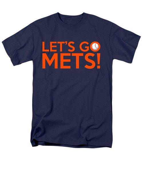 Let's Go Mets Men's T-Shirt  (Regular Fit) by Florian Rodarte