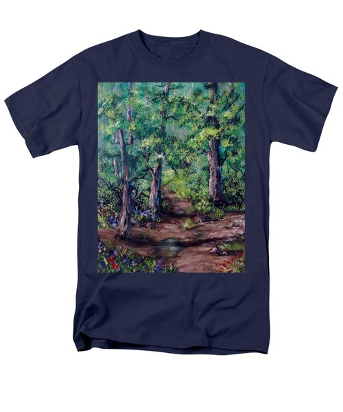 Little Clearing Men's T-Shirt  (Regular Fit) by Megan Walsh