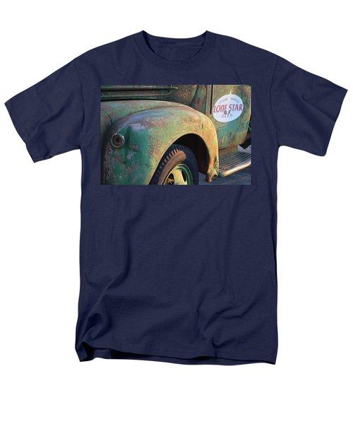 Men's T-Shirt  (Regular Fit) featuring the photograph Lone Star Memories  by Carolina Liechtenstein
