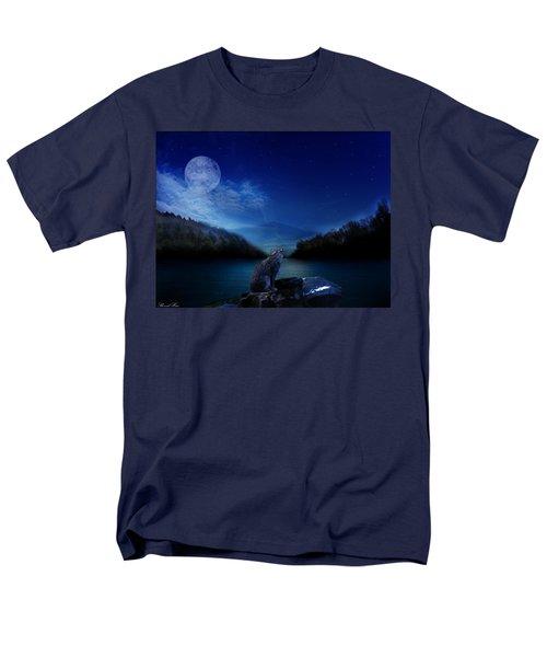 Lonely Hunter Men's T-Shirt  (Regular Fit) by Bernd Hau