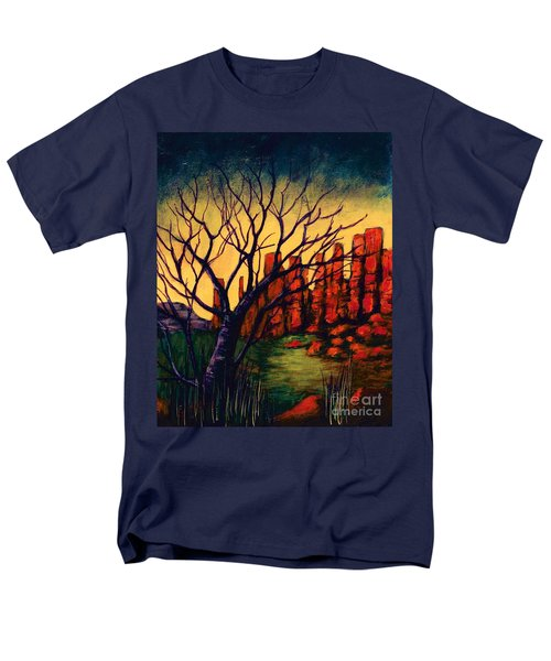 Lonesome Tree  Men's T-Shirt  (Regular Fit)