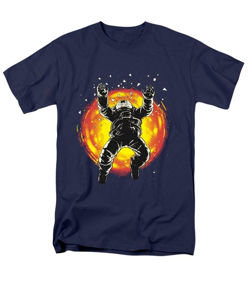 Lost In The Space Men's T-Shirt  (Regular Fit) by Carbine