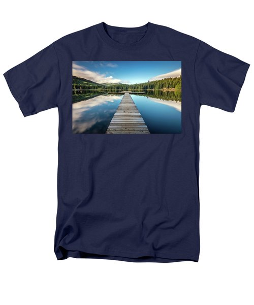 Lost Lake Dream Whistler Men's T-Shirt  (Regular Fit) by Pierre Leclerc Photography