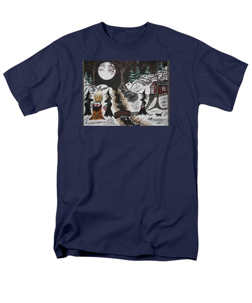 Men's T-Shirt  (Regular Fit) featuring the painting Lunch by Jeffrey Koss