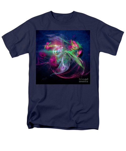 Men's T-Shirt  (Regular Fit) featuring the painting Magnetic Fields by Alexa Szlavics