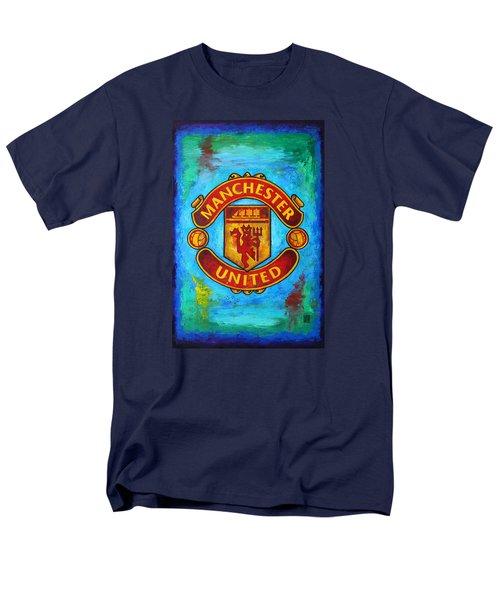 Manchester United Vintage Men's T-Shirt  (Regular Fit) by Dan Haraga