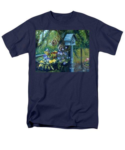 Marcia's Garden Men's T-Shirt  (Regular Fit)