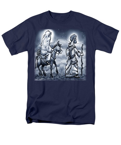 Mary And Joseph  Men's T-Shirt  (Regular Fit) by Kevin Middleton