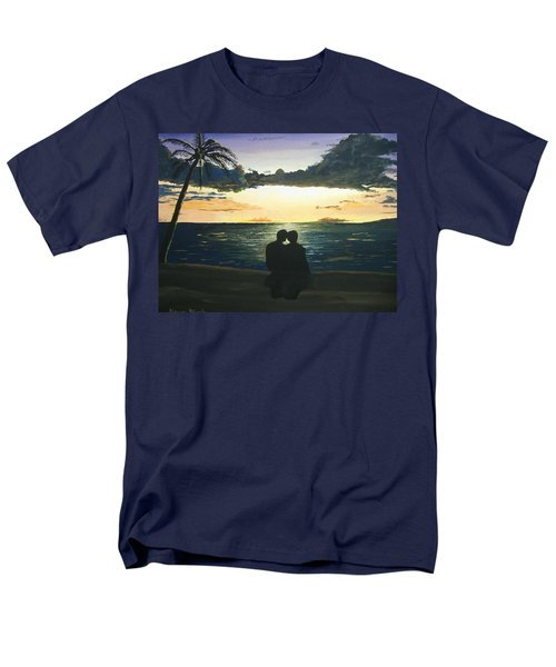 Maui Beach Sunset Men's T-Shirt  (Regular Fit) by Norm Starks