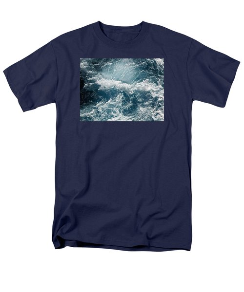 Mediterranean Sea Art 53 Men's T-Shirt  (Regular Fit) by Richard Rosenshein