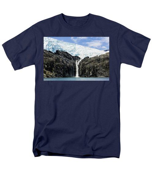 Meltwater From The Northland Glacier Men's T-Shirt  (Regular Fit) by Ray Bulson