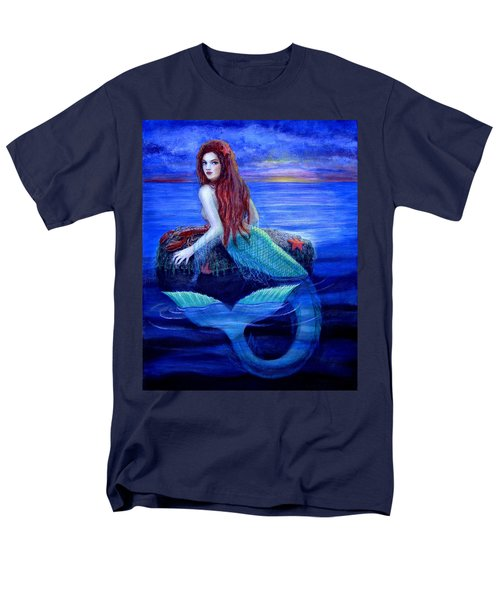Mermaid's Dinner Men's T-Shirt  (Regular Fit) by Sue Halstenberg