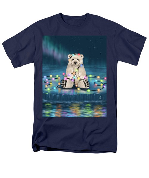 Men's T-Shirt  (Regular Fit) featuring the painting Merry Christmas  by Veronica Minozzi