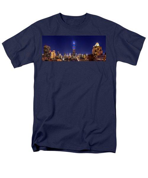 Mets Dominance Men's T-Shirt  (Regular Fit) by Az Jackson