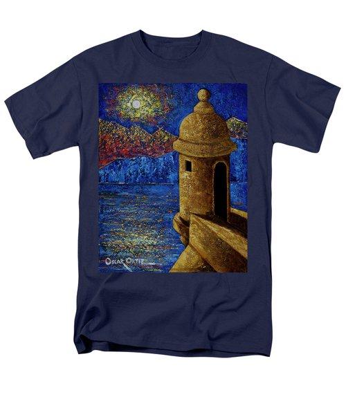 Midnight Mirage In San Juan Men's T-Shirt  (Regular Fit) by Oscar Ortiz