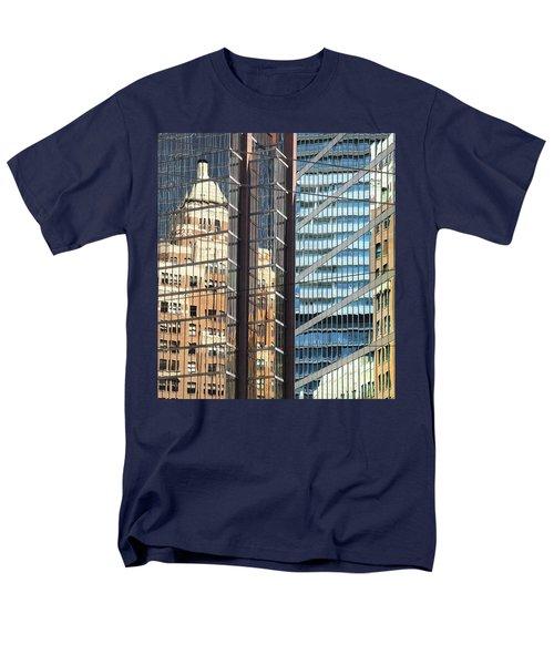 Men's T-Shirt  (Regular Fit) featuring the photograph Miksang 10 Reflect by Theresa Tahara