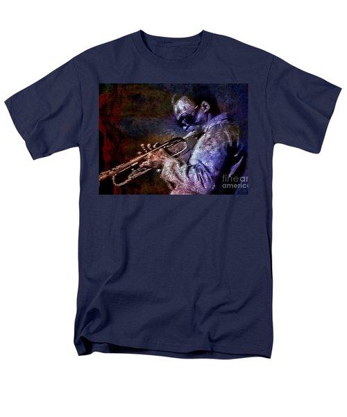 Miles Davis Jazz Legend 1969 Men's T-Shirt  (Regular Fit) by Ian Gledhill