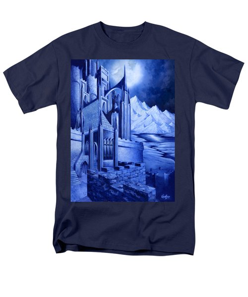 Minas Tirith Men's T-Shirt  (Regular Fit) by Curtiss Shaffer