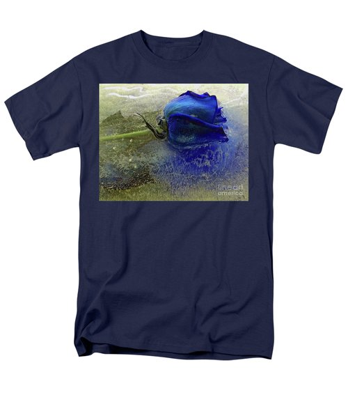 Misty Blue Men's T-Shirt  (Regular Fit) by Terry Foster