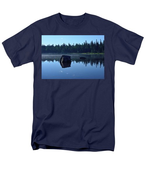 Misty Summer Morning Men's T-Shirt  (Regular Fit) by David Porteus