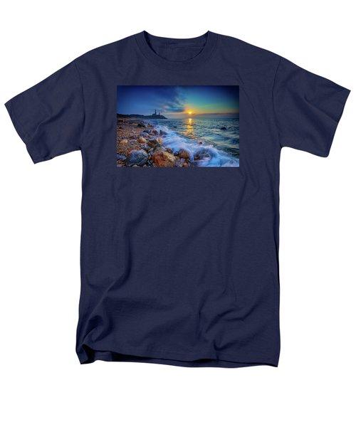 Montauk Sunrise Men's T-Shirt  (Regular Fit) by Rick Berk
