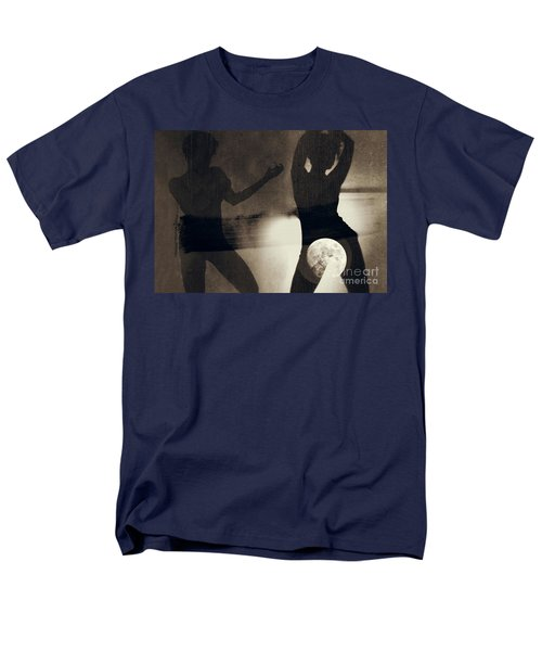 Moon And Then Men's T-Shirt  (Regular Fit) by Jessica Shelton