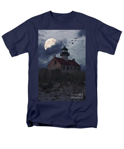 Moonlight At East Point Men's T-Shirt  (Regular Fit) by Debra Fedchin