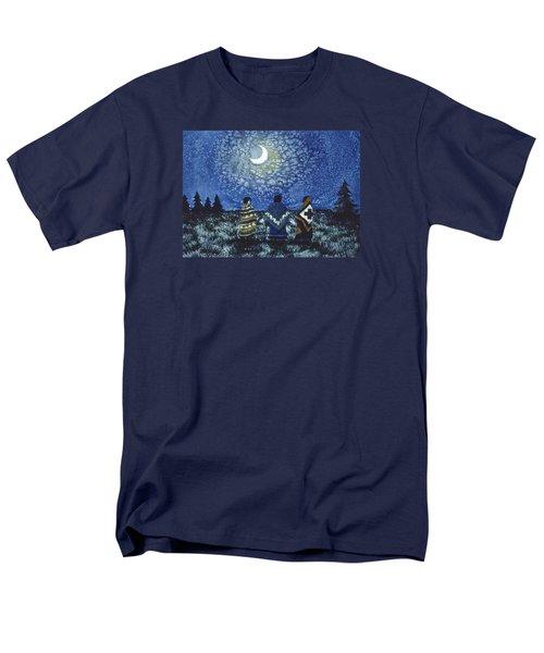 Moonlight Counsel Men's T-Shirt  (Regular Fit) by Lynda Hoffman-Snodgrass