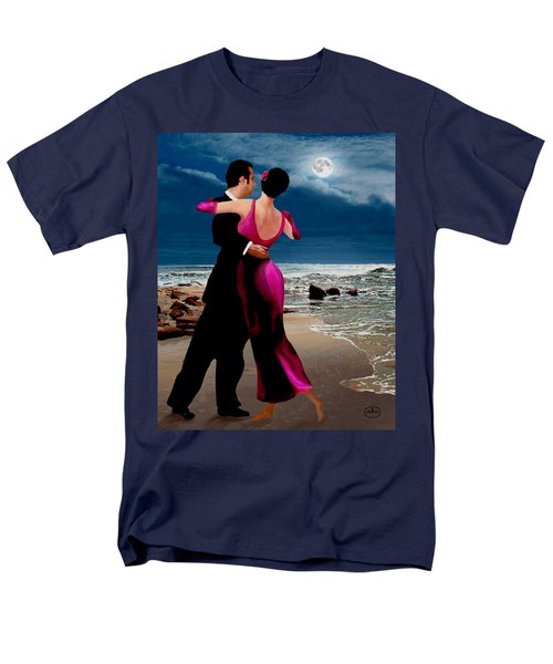 Moonlight Dance V2 Men's T-Shirt  (Regular Fit) by Ron Chambers