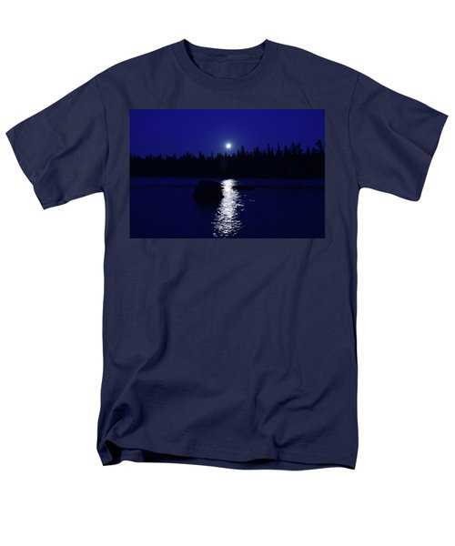 Moonrise On A Midsummer's Night Men's T-Shirt  (Regular Fit) by David Porteus