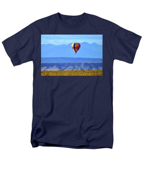 Morning In Montana Men's T-Shirt  (Regular Fit) by C Sitton