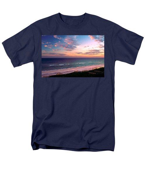 Morning Light On Rosemary Beach Men's T-Shirt  (Regular Fit) by Marie Hicks