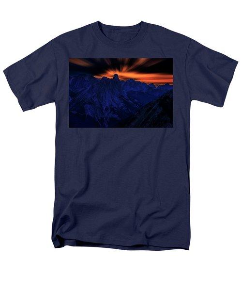 Mount Doom Men's T-Shirt  (Regular Fit)