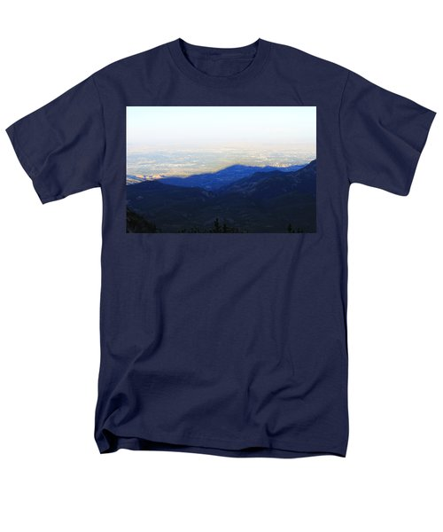 Mountain Shadow Men's T-Shirt  (Regular Fit) by Christin Brodie