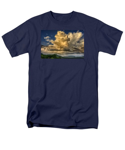 Mountain Shower And Storm Clouds Men's T-Shirt  (Regular Fit) by Thomas R Fletcher