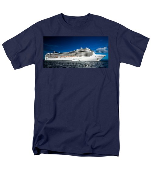 Msc Poesia Men's T-Shirt  (Regular Fit) by Christopher Holmes