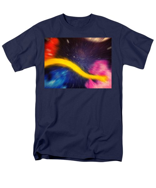 My Galaxy Too Men's T-Shirt  (Regular Fit)