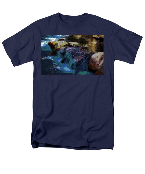 Mystical Springs Men's T-Shirt  (Regular Fit) by DigiArt Diaries by Vicky B Fuller